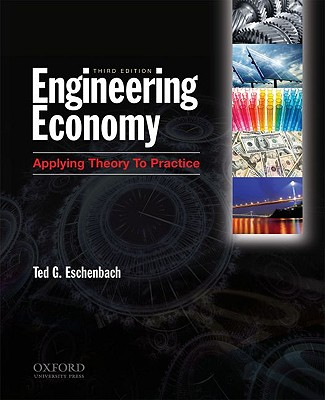 Engineering Economy By Eschenbach, Ted G.